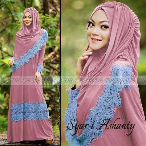 Gamis Abaya Maxi Syar I Amera Khimar model baju muslim syar i modern maxi ashanty salem gamis