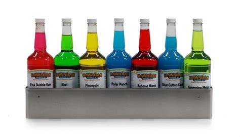 Snow Cone Bottle Rack by Stainless Steel Speed Rack 6 Quarts 1 800