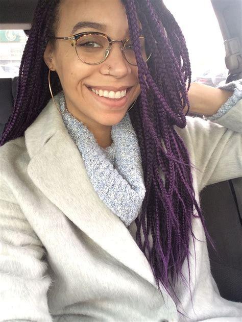 exles of box braids 9 perfect exles of purple box braids hairstylesout