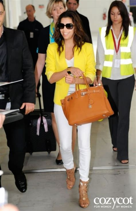 Evas Fashionable And Charitable Bag by Longoria In White Hermes Birkin Bag A