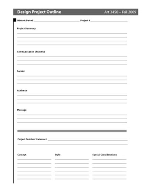 Big D Larry Design Brief Template Design Brief Template