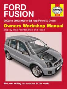 haynes 5566 ford fusion petrol diesel 02 11 02 61