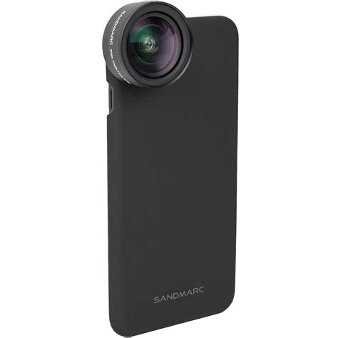 sandmarc wide lens for iphone x sm 255 b h photo