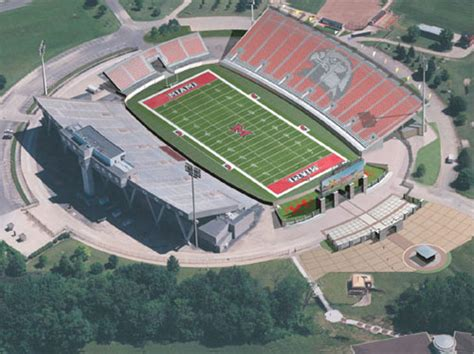 Miami Of Ohio Mba Ranking by Miami Yager Stadium