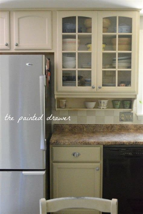 Kitchen Cabinets Finishes Painted Kitchen Cabinets In General Finishes Millstone Before And After On Www Thepainteddrawer