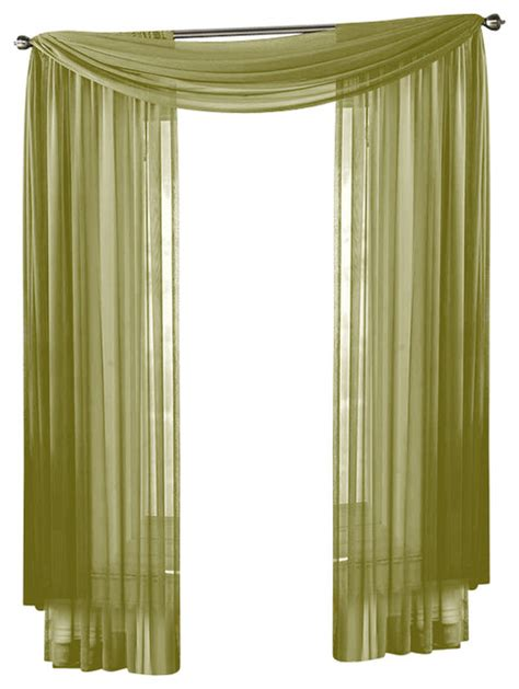 sage green sheer curtains hlc me sheer curtain window sage green scarf