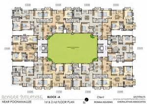 L Kitchen Layout by Romaa Paradise Poonamallee Chennai Residential