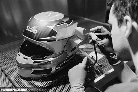 Helm Schwarz Lackieren by The High Art World Of Custom Helmet Design Speedhunters
