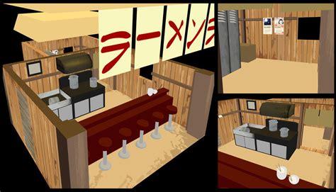 Ramen Ichiraku ichiraku ramen 3d by mixer3d on deviantart