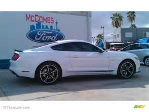 2016 oxford white ford mustang gt cs california special