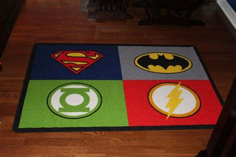 batman bedroom rugs justice league area rug baby danny s room justice league