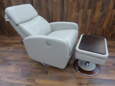 Lazy Boy Chairs And Ottomans Lazy Boy Andrea Ivory Power Recliner Chair And