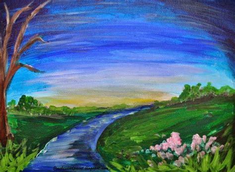 50 gambar sketsa lukisan pemandangan alam hitam putih yang indah