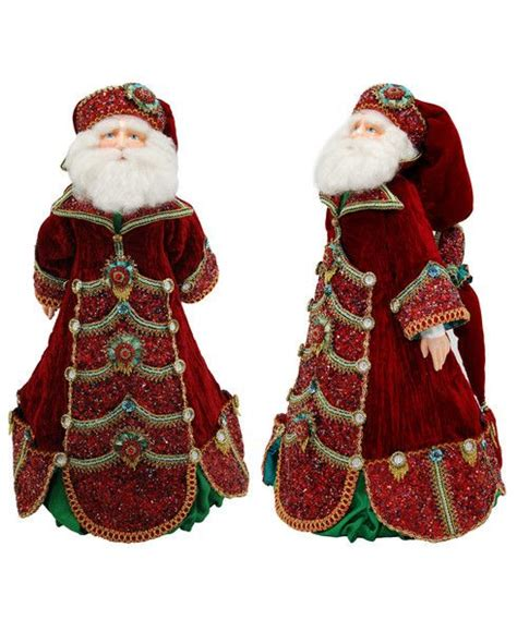holiday creations santa doll for sale katherine s collection imperial guardsman collection approx 28 quot advent santa doll free