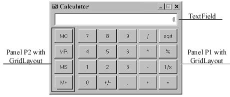 layout calculator java lesson 12 introduction to gui with swing part i