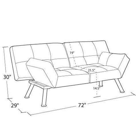 mainstays contempo futon sofa bed convertable sleeper