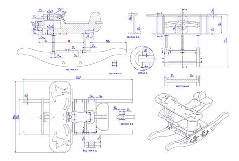 wood rocking chair plans  diy woodworking projects