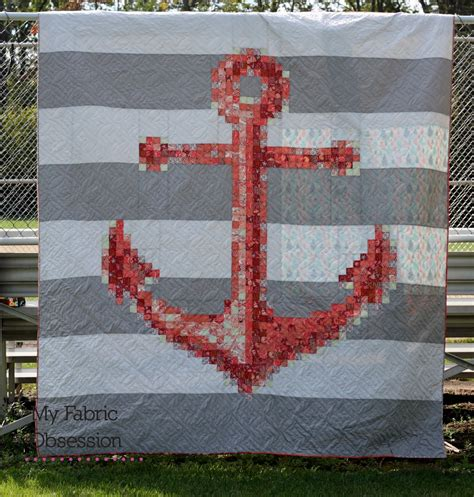 quilt pattern anchor my fabric obsession tula pink anchor quilt coral