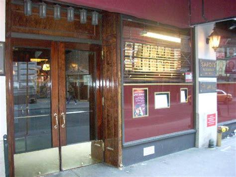 doors new york restaurants sardi s front door picture of sardi s restaurant new