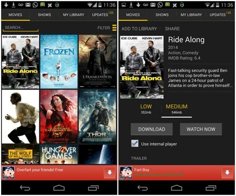 showbox free for android showbox apk showbox apk file