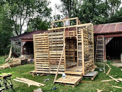 pallet house pallet house tiny house swoon