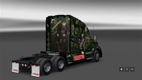 kenworth vs peterbilt predator truck peterbilt kenworth v 1 0 skin euro truck