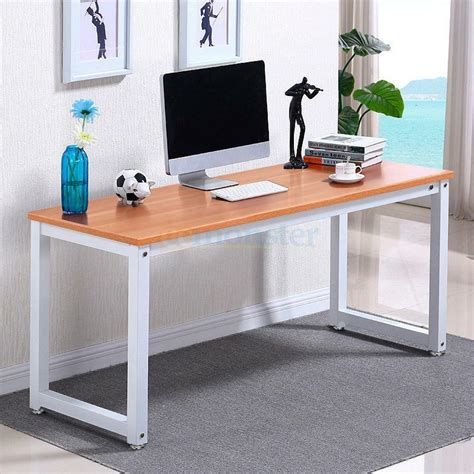 Simple Desk Chairs by Computer Desk Pc Laptop Table Wood Workstation Study Home