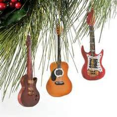 guitar christmas decorations 1000 images about musical on notes ornaments and