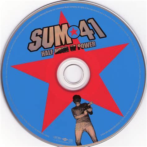 Sum 41 Half Hour Of Power Album Copertina Cd Sum 41 Half Hour Of Power Cd Cover Cd
