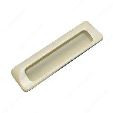 flush mount cabinet door pulls contemporary recessed plastic pull 2869 richelieu hardware
