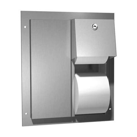 dual roll toilet tissue dispenser dual access partition mounted dual roll toilet tissue