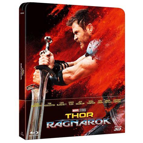 film thor ragnarok bluray thor ragnarok 3d 2d limited edition steelbook exclusive