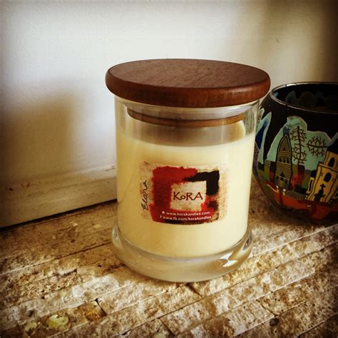 Handmade Candles Australia - scented soy candles in glass jar fragrance quot elora