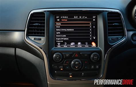 Jeep Screen Should You Buy A 2015 Jeep Grand Performancedrive