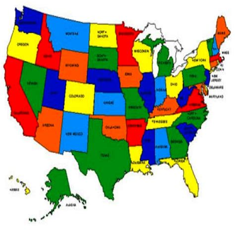 interactive usa map with states and capitals us map learning free softportalrf