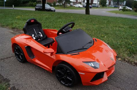 Lamborghini Children S Car Lamborghini Lp700 Aventador 6v Electric Children S Battery