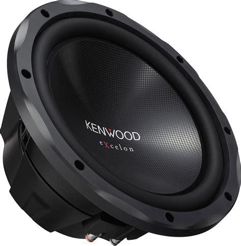 Speaker Subwoofer Kenwood kenwood excelon kfc xw12 12 quot 4 ohm 1200w car subwoofer new