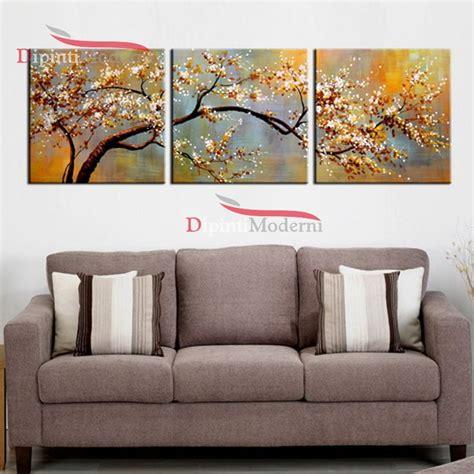 quadri fiori su tela quadri divano grande ramo albero fiori moderni su tela