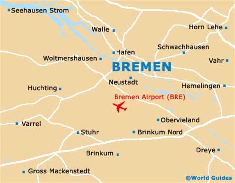 germany bremen map bremen germany map
