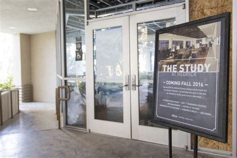 ucla study room new hedrick study space set to open in winter 2017 daily bruin
