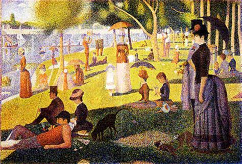 georges seurat most famous paintings out on a limb back in the saddle july 2009