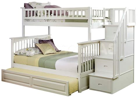 White Bunk Bed With Stairs White Bunk Beds With Stairs With Stairs Junior Height Loft Bed Plans Free From White