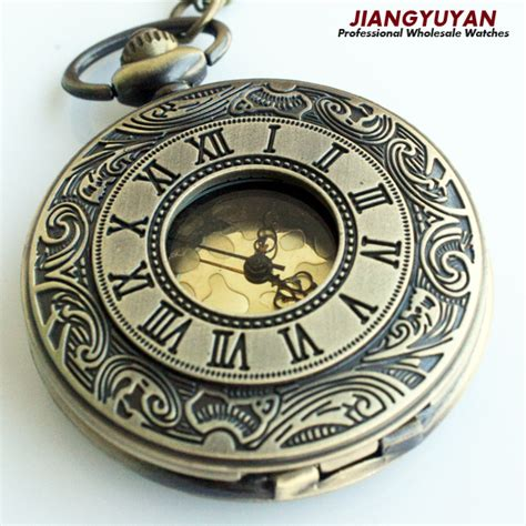 vintage pocket retro antique watches with chain