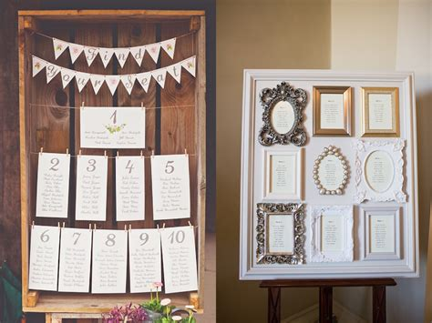 wedding seating plan picture frames how to create a stylish seating plan for your wedding