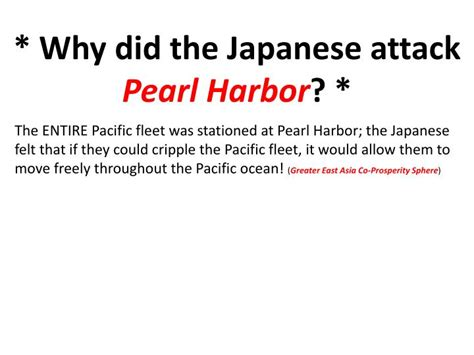 ppt the attack on pearl harbor december 7 1941