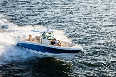 boston whaler boat reviews boston whaler 330 outrage video boat review boats
