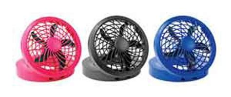 ozark trail 10 battery operated adjustable portable fan battery operated fans o2 cool 5 quot portable usb or