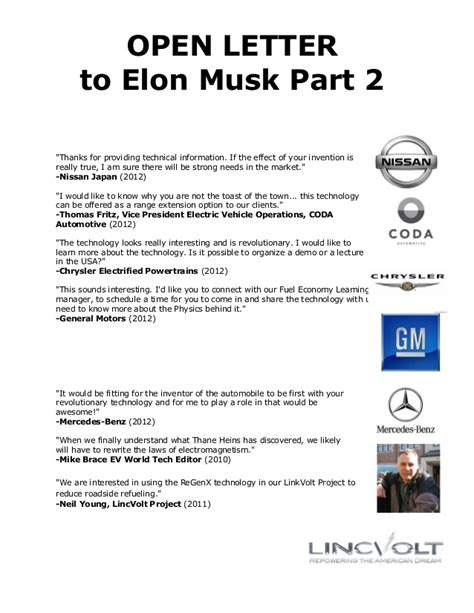 elon musk letter open letter to elon musk part 2