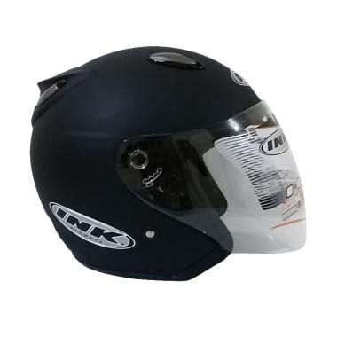 Helm Ink Black Doff jual helm ink metalico klasik harga murah blibli