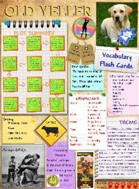 Book Report Yeller by Yeller Text Images Glogster Edu Interactive Multimedia Posters